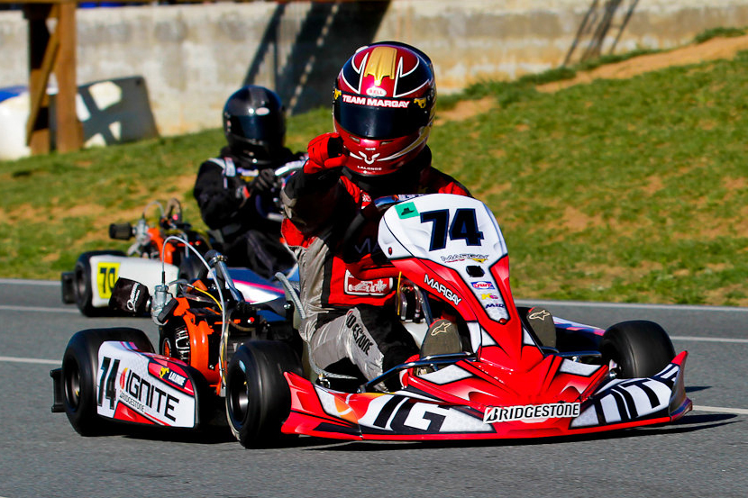 Ignite K3 On Track