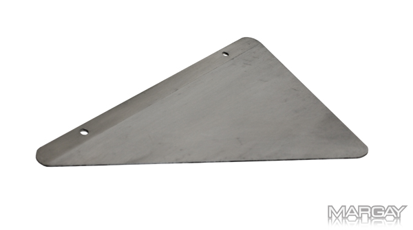 Polished Floor Pan Wing