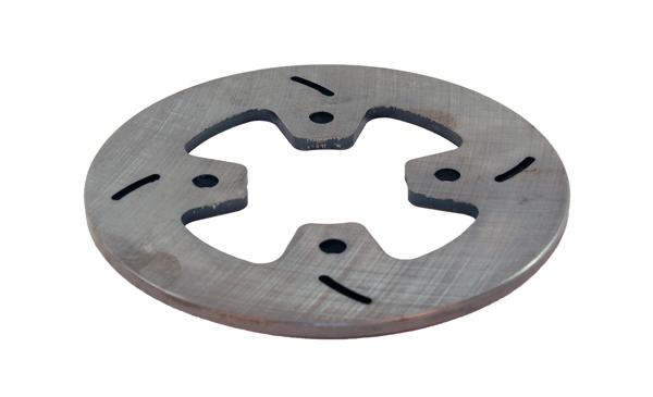"Mini Lite Steel 4 Bolt Brake Rotor (6"" x 3/16"")"