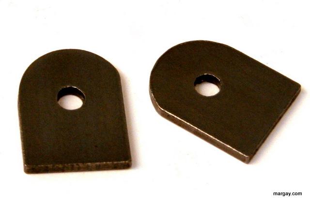 Weld-on floor pan tabs