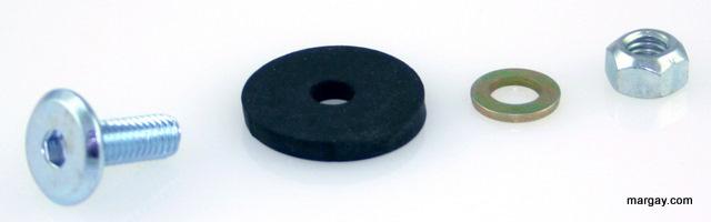 Brava Floor Pan Mounting Hardware Detail