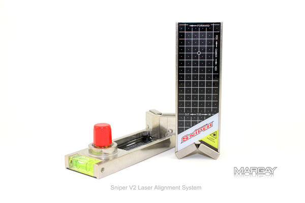 Margay Racing Shop Sniper V2 Inox Laser Alignment System