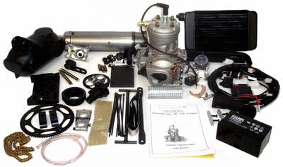 Parilla 125cc Leopard Engine Kit with Mounts