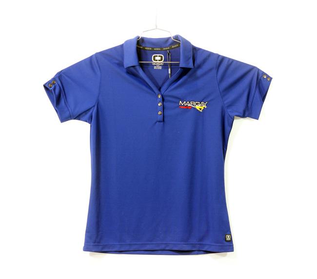 Margay Team Ogio Ladie's Polo Shirts Blue