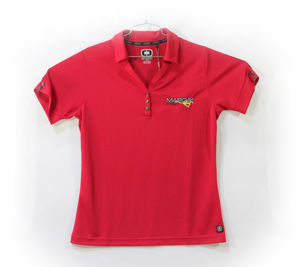 Margay Team Ogio Ladie's Polo Shirts Red