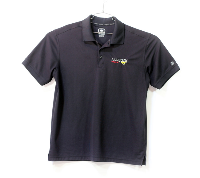 Margay Team Ogio Men's Polo Shirts Black