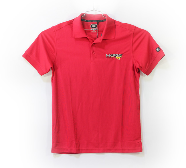 Margay Team Ogio Men's Polo Shirts Red