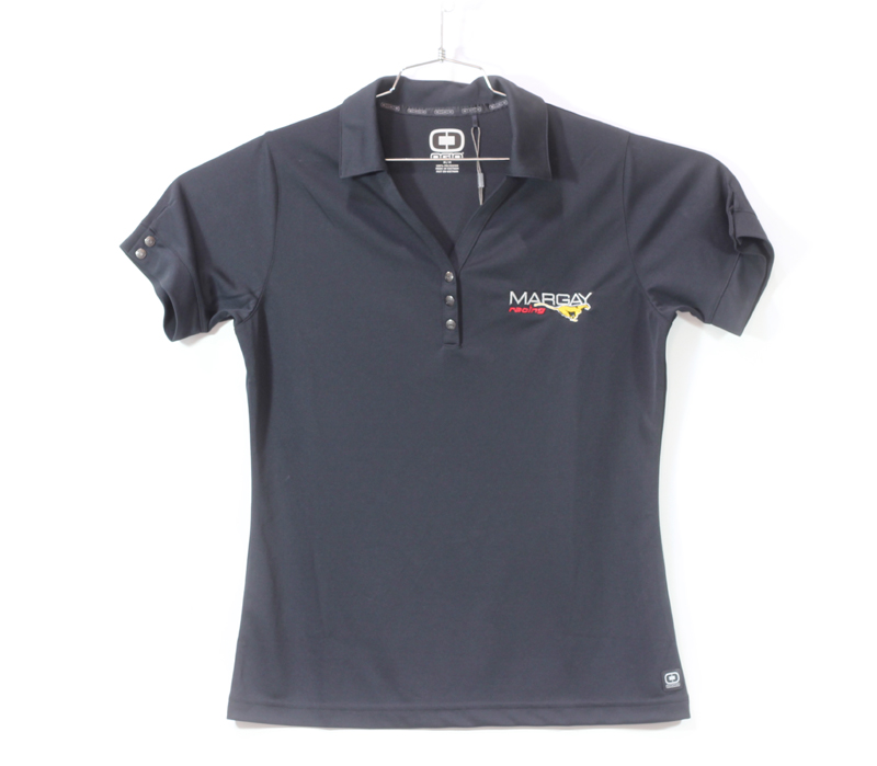 Margay Team Ogio Ladie's Polo Shirts Black