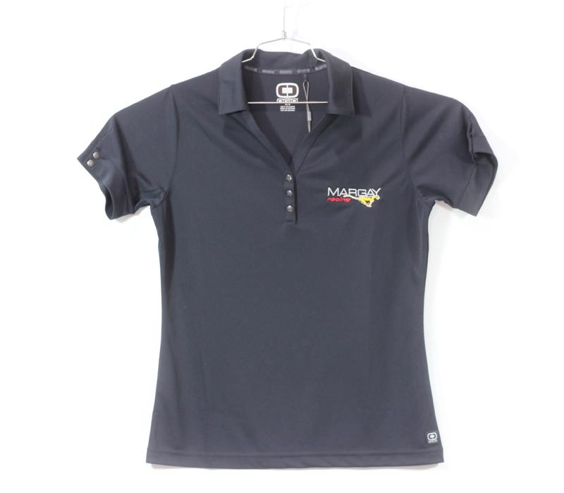 Margay Team Ogio Ladie's Polo Shirts Black