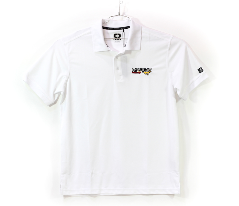 Margay Team Ogio Men's Polo Shirts White