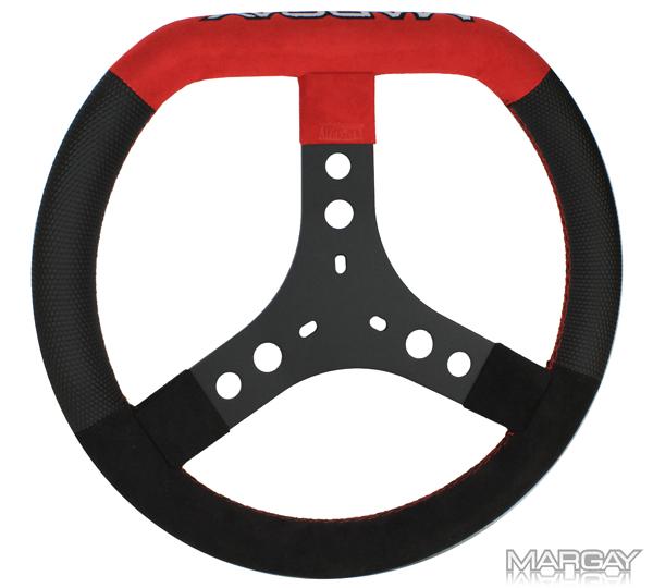 Margay Team Flat Top Steering Wheel