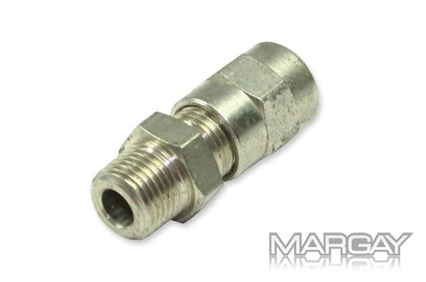 Hydraulic fitting, straight 1/8-6/4mm