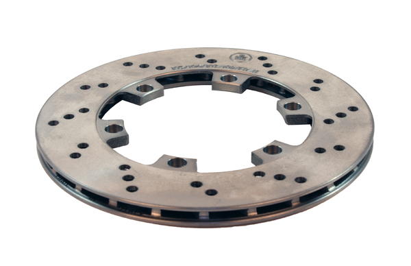 "Vented Cast Brake Rotor (8.25"" x 0.485"")"