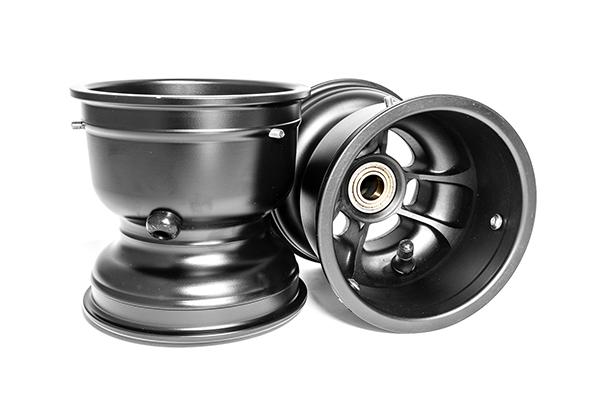 "TruSpeed Magnesium Wheel Set, 5"" x 130mm & 5"" x 130mm (Metric Mount)"