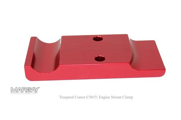 TruSpeed Comer C50/51 Engine Mount Clamp