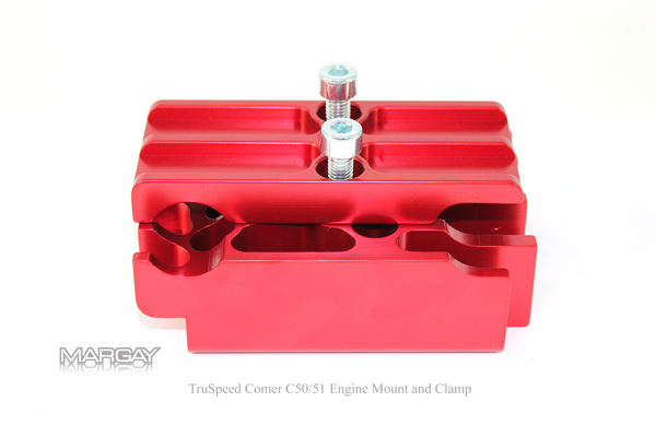 TruSpeed Comer C50/51 Engine Mount and Clamp