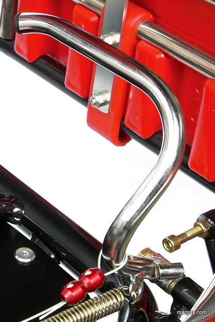 Throttle pedal, Brava, tubular