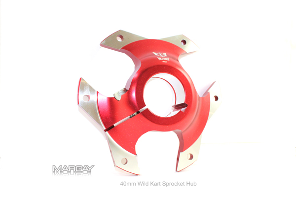 40mm WildKart Sprocket Hub