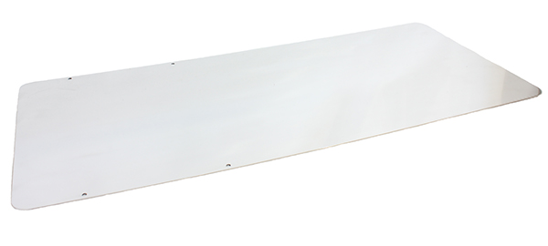 Floor pan, polished-TNR TK400, TNR Single Rail, Syncro, Syncro Quad