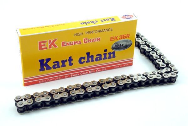 EK #35 Silver 106 Link Chain