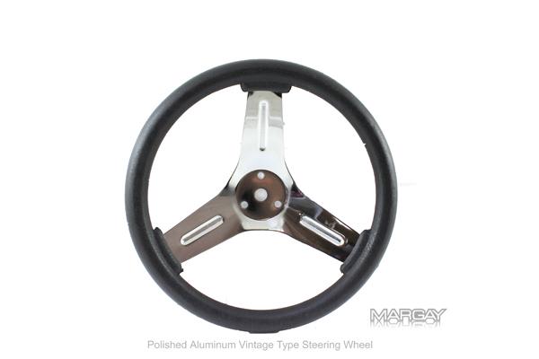 """Vintage Steering Wheel-10"""" Round"""