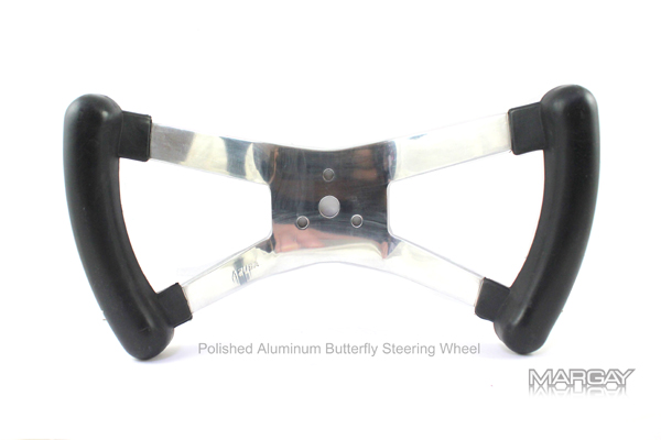Vintage Steering Wheel- Butterfly Style