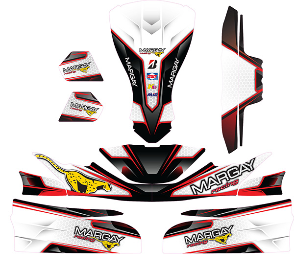 Margay Team Decal Kit - FP7 / Evo Stilo