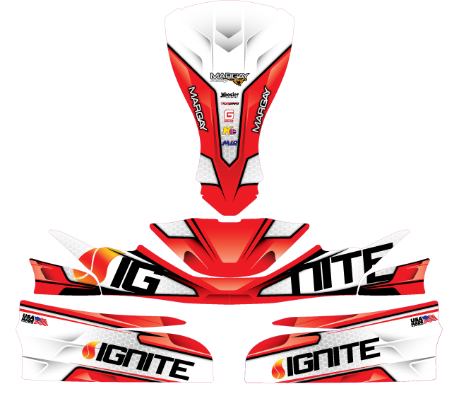 2020 Ignite Factory Decal Kit