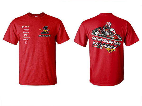(NEW) 2019 Margay Factory Team Shirt