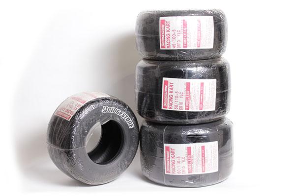 Bridgestone 4.50/6.00 YLC Tire Set (Old Logo)