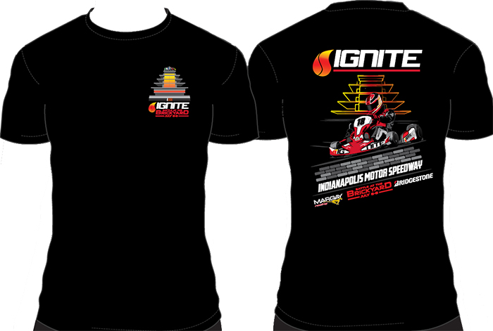 2018 Ignite Battle at the Brickyard Event T-Shirt