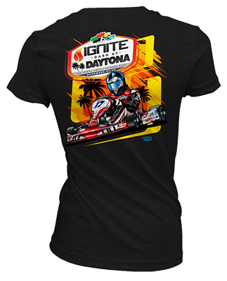 2017 Ignite Dash at Daytona Event Shirt - Ladies
