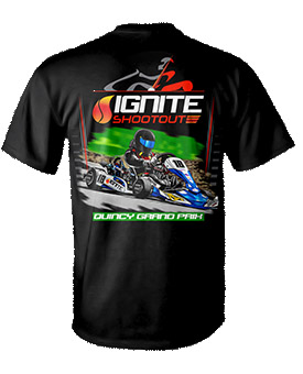2018 Quincy Grand Prix Ignite Event T-Shirt
