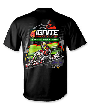 2019 Quincy Grand Prix Ignite Event T-Shirt
