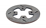 "Mini Lite Steel 4 Bolt Brake Rotor (6"" x 3/16"")"