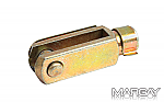 Clevis, M-6 metric